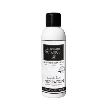 La Nouvelle Botanique_Hydrolatherapie_Cosmetique Bio_Lait de bain INSPIRATION aux huiles essentielles Bio_huile végétale noyau abricot_BD